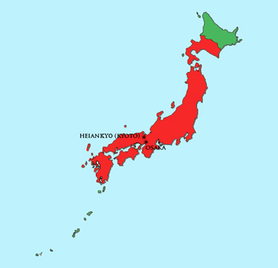 Japan Module | Map | Ashikaga Period (1336 – 1568)