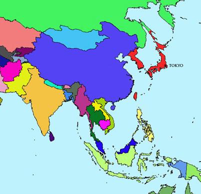 Japan Module | Map | Taishō Period (1912 – 1926)